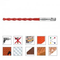 Hartmetall Mehrzweckbohrer 6,00 / 260 mm SDS-plus