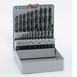 Brušeni svedri HSS-G DIN 338 kaseta 25/1
